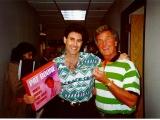 Uri with Pat Boone