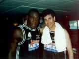 Uri with Frank Bruno
