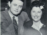 My father and mother, not long after their wedding
