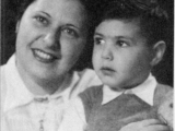 My mother and I when I was about four years old.