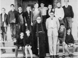 A school picture taken in Nicosia, 1963, at Terra Santa College. I'm the boy in the checked shirt.