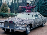 Uri Geller With The Geller Effect Cadillac.