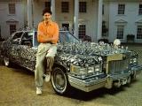 Uri Geller with The Geller Effect Cadillac