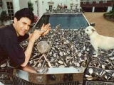 Uri Geller with The Geller Effect Cadillac