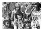 Uri Geller with Witch Doctors from Africa