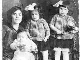 My grandmother and her 3 daughters