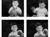 Uri Geller as young boy.