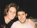 With wife Hanna