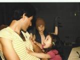 Uri with kids Daniel and Natalie