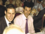 With son Daniel Geller