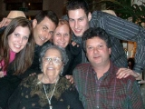 Hanna's birthday, all my family together