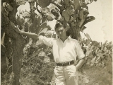 Uri's dad in Palestine.