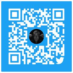 Scan to follow Twitter