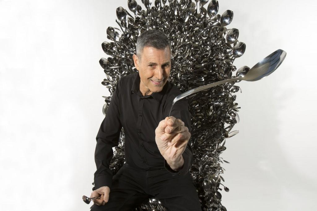 Uri Geller Throne of Spoons.
