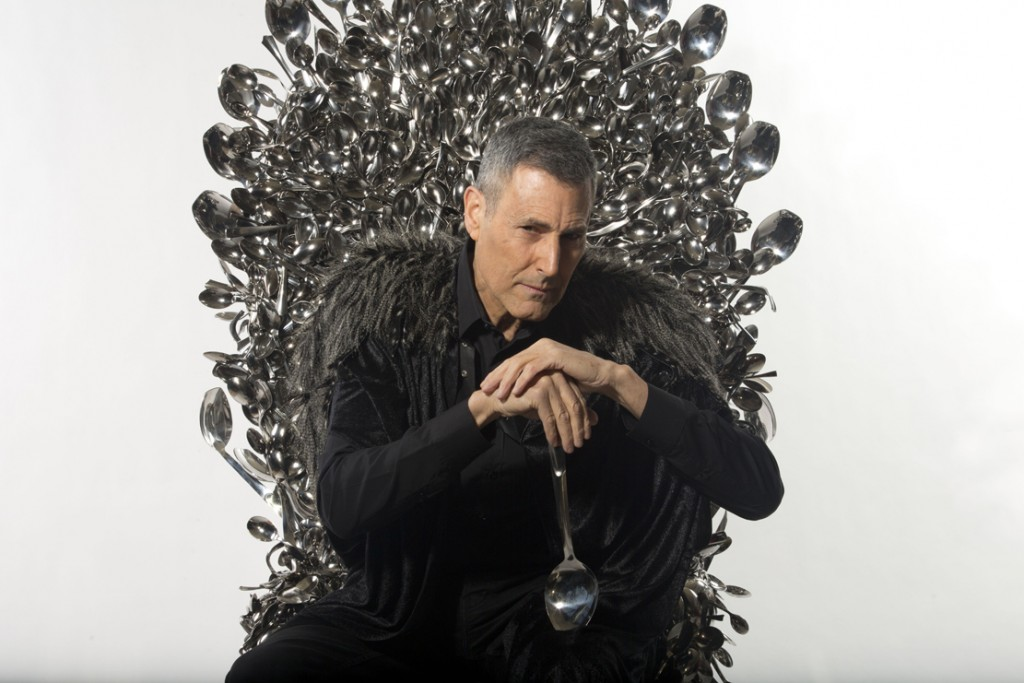 Uri Geller Throne of Spoons.