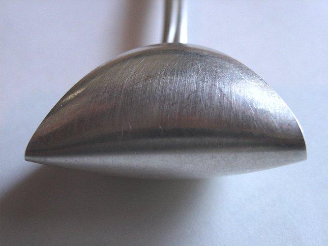 Uri Geller Bent Spoon.