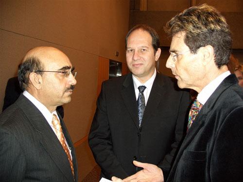 Geneva, Switzerland 2005. Pakistani Ambassador Masood Khan