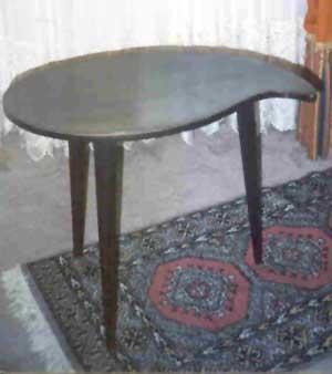 Uri Geller Table.