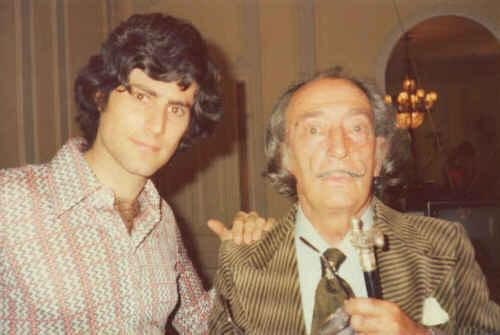 Uri Geller Salvador Dali.