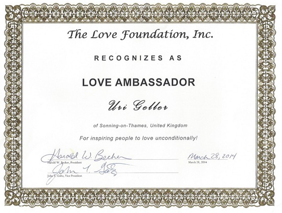 The Love Foundation.