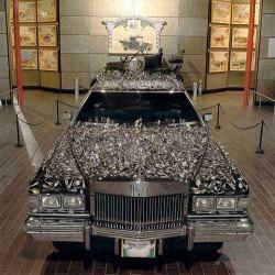 Geller Effect Cadillac at Beaulieu National Museum