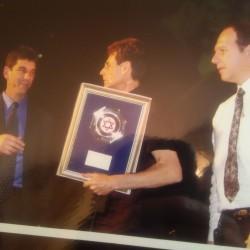 Uri Gets a Token of Appreciation from Israeli Red Cross ( Magen David Adom).