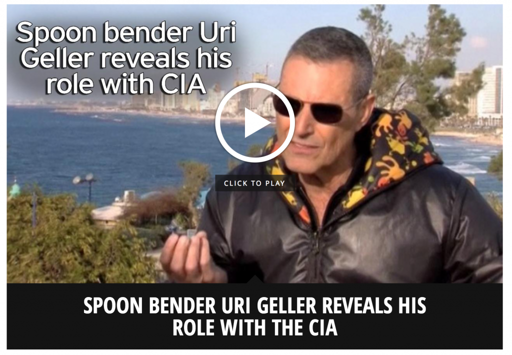 Uri Geller Interviewed on CIA Role