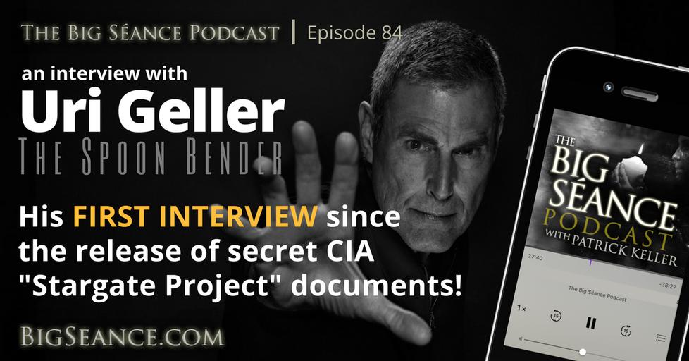 Uri Geller Stargate CIA.