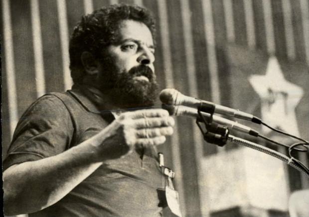 O então deputado Luiz Inácio Lula da Silva, em 1986; CIA monitorava expansão do PT para o exterior