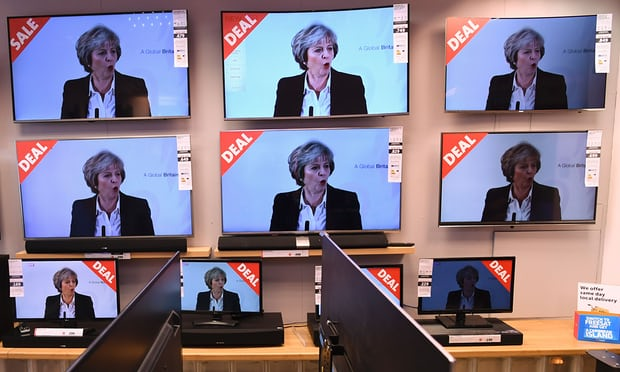 Deal or no deal? With Brexit talks on the horizon, Theresa May said this week that the UK intends to leave the single market. Photograph: Paul Ellis/AFP/Getty Images