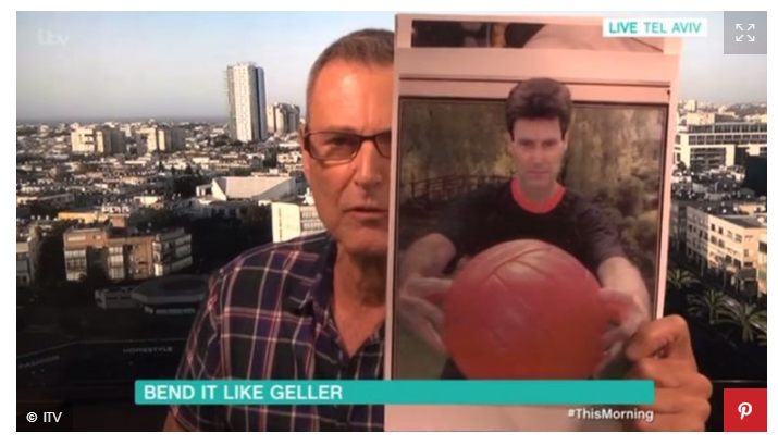 Uri Geller - Touch This Football