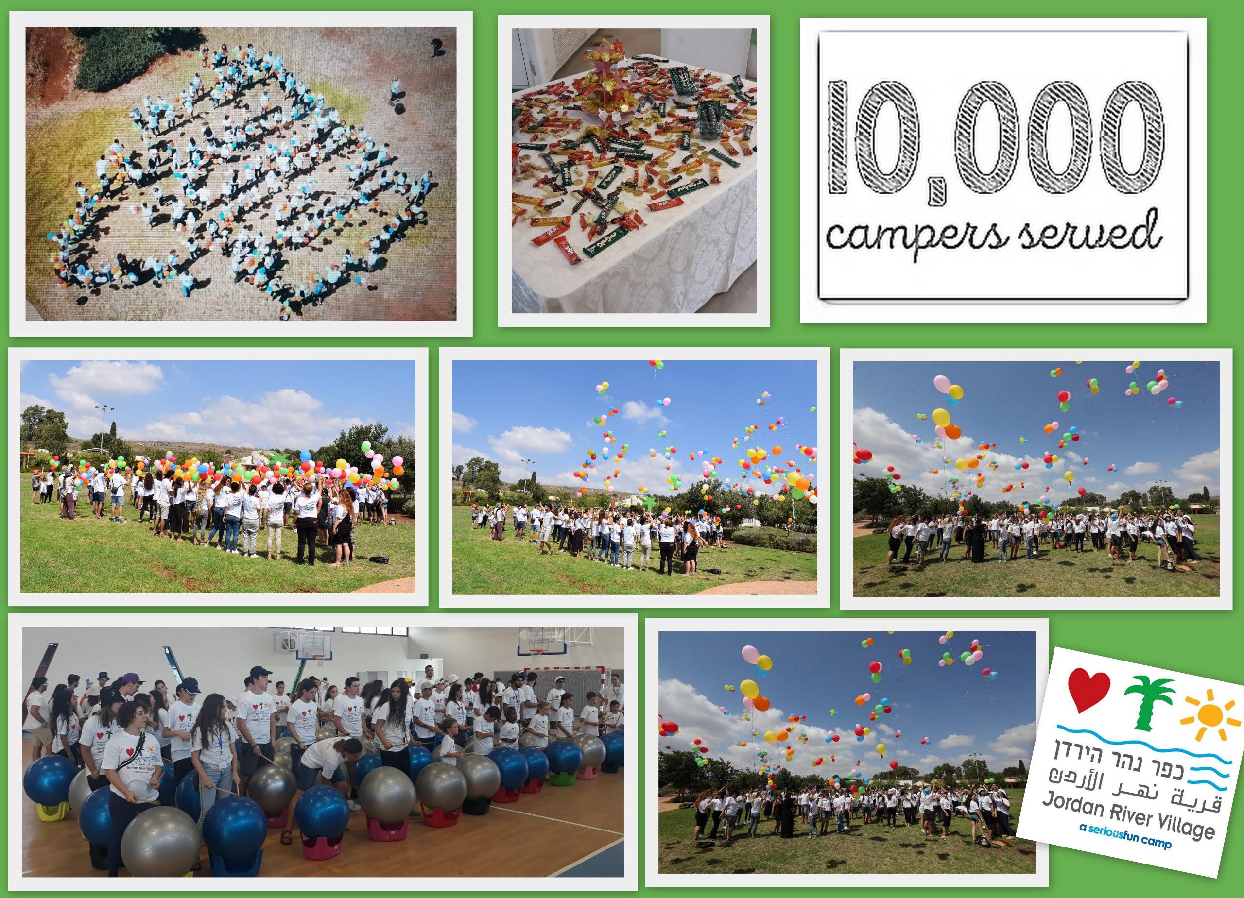 10000 campers served