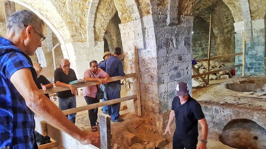Il sensitivo Geller scopre fabbrica di sapone di epoca ottomana nel cuore di Giaffa