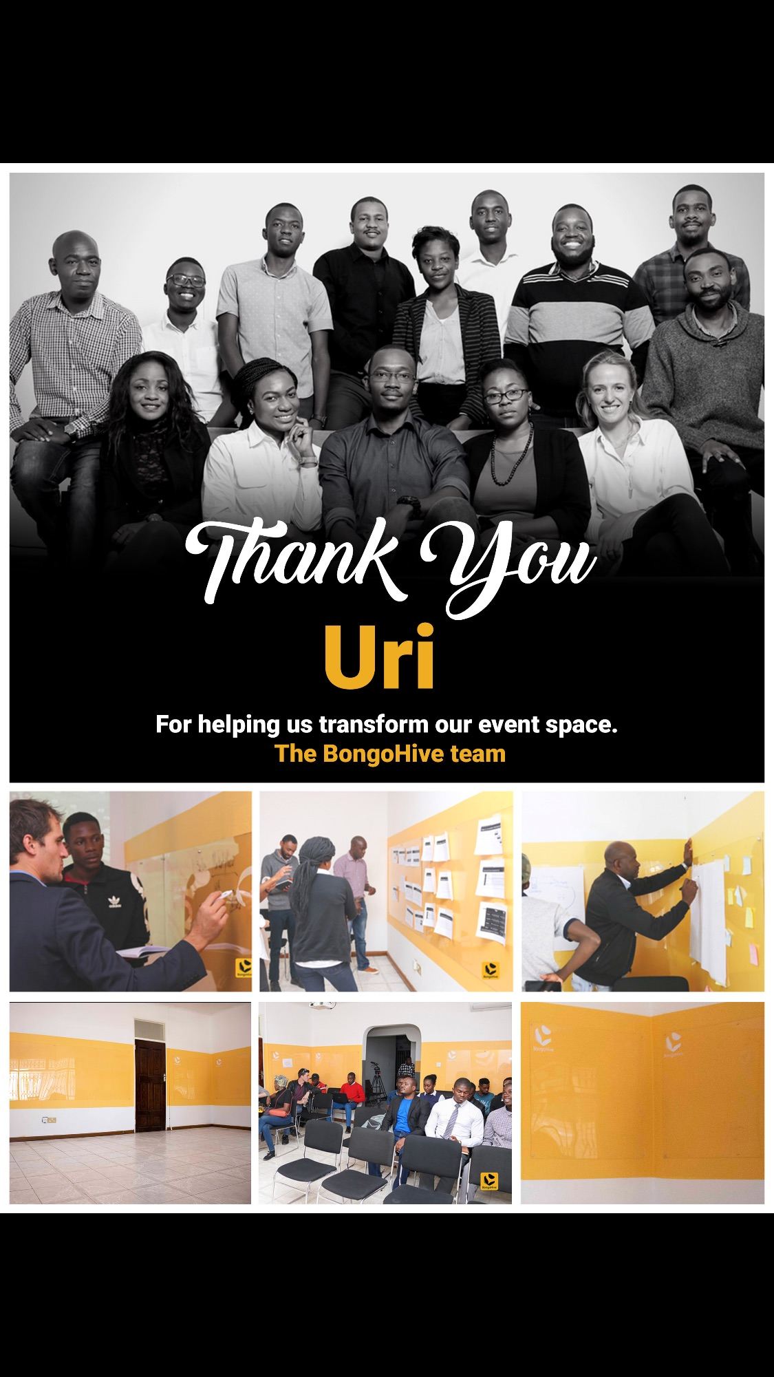 Thank you Uri