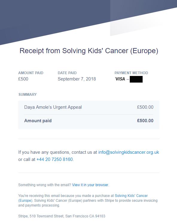 Solving kids cancer europe