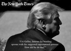 Trump Uri Geller Nytimes