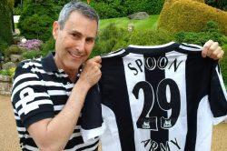 Uri Geller Newcastle United.
